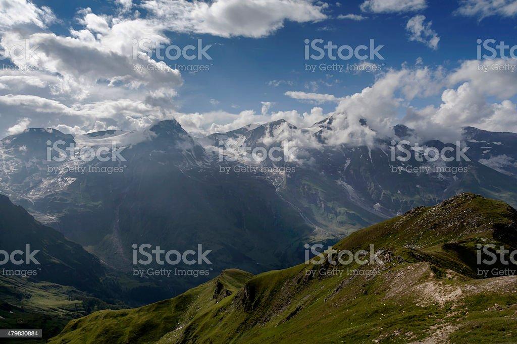 Nationalpark Hohe Tauern stock photo
