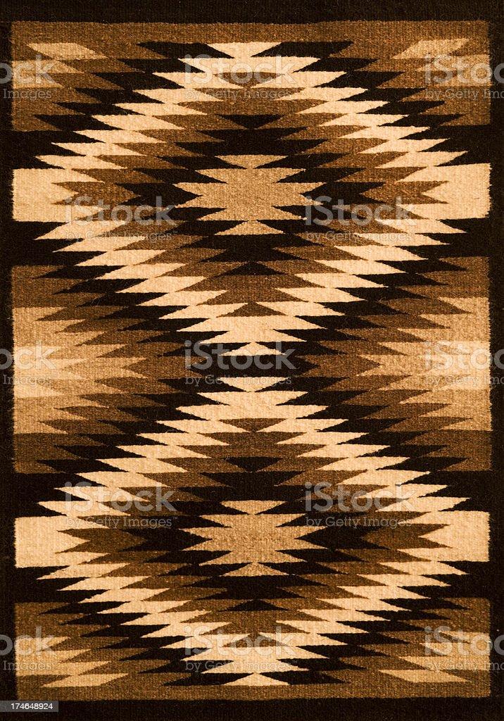 Native American Blanket XXL stock photo