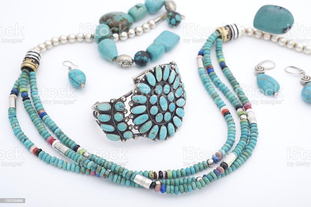 Native American Jewelry /Jewellery royalty-free stock photo