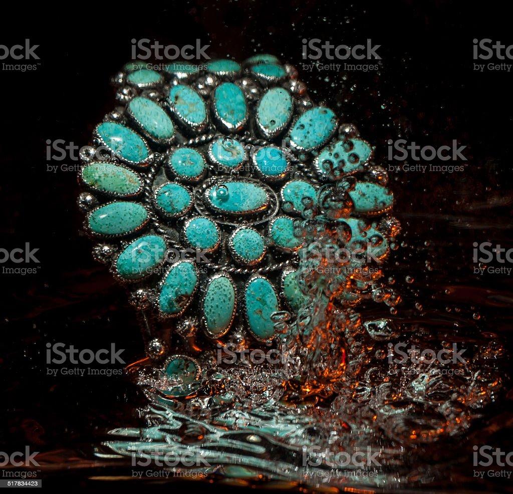 Native American Jewelry stock photo