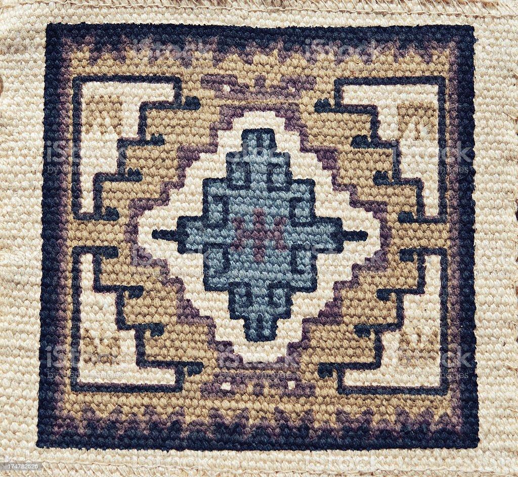 Native American Pattern stock photo