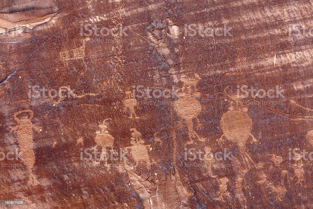 Native American Petroglyphs Stock Photo Istock