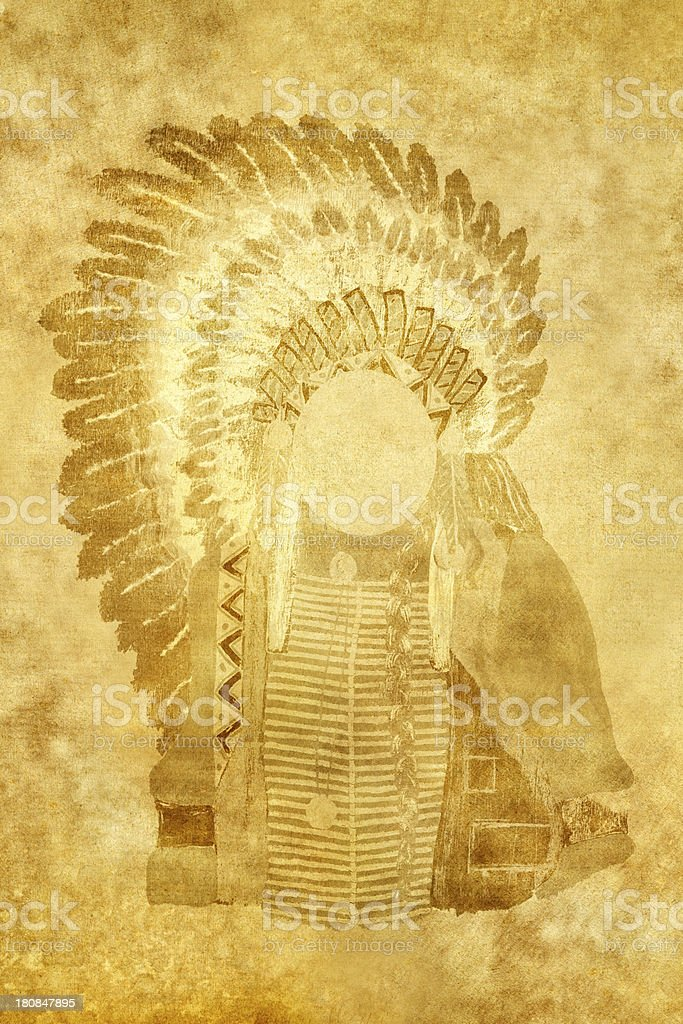 Native American royalty-free stock photo