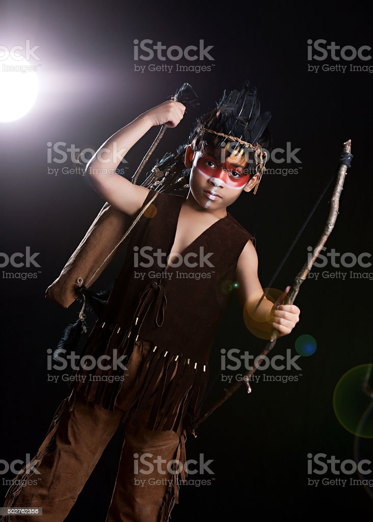 Native American stock photo