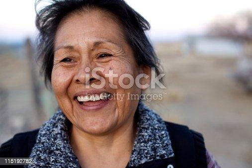 istock Native american portraits - Navajo 115192782