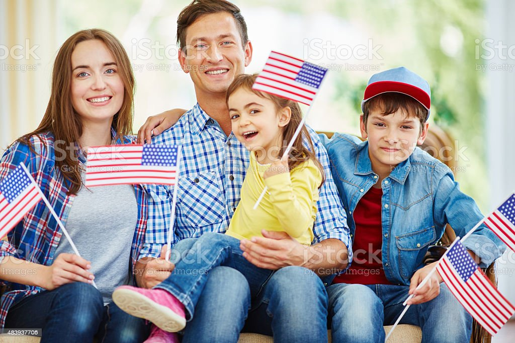 Native Americans stock photo