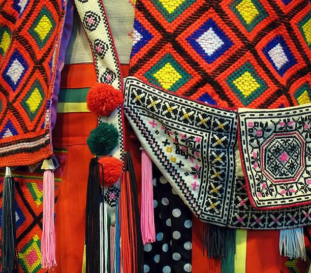 Native Costume Detail stock photo