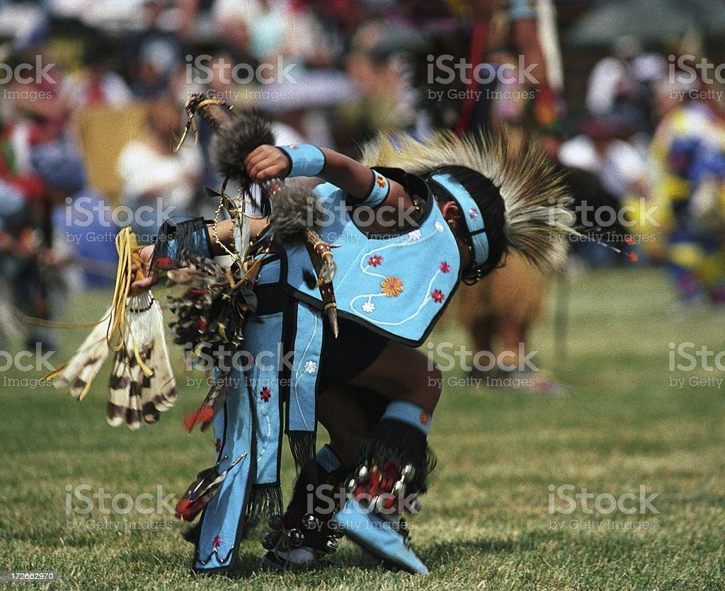 Native Dancer royalty-free stock photo