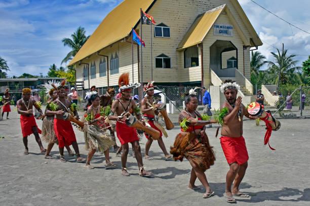 Tänzer in Papua-Neuguinea – Foto