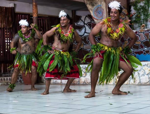 Einheimische Tänzer in Tonga – Foto