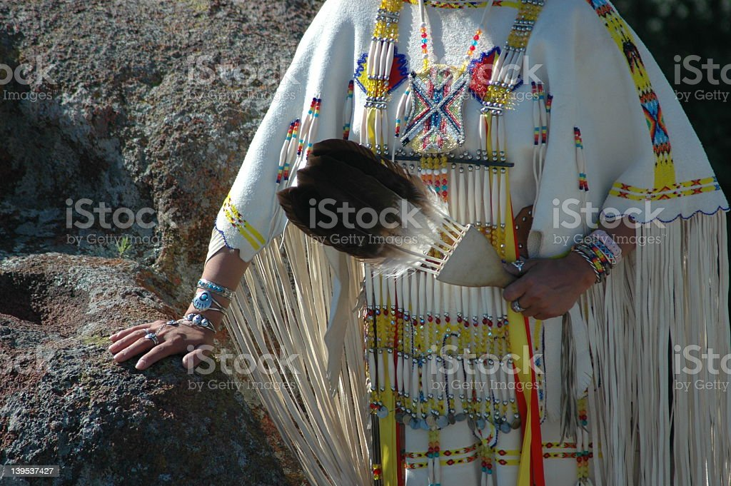 Native Dress royalty-free stock photo