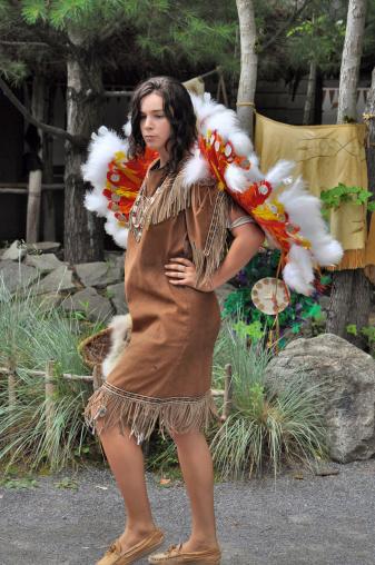 Native Indian dancer