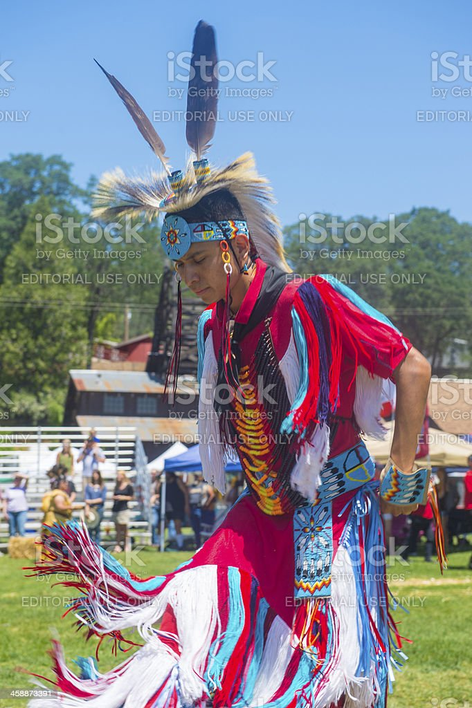 Native Indian royalty-free stock photo
