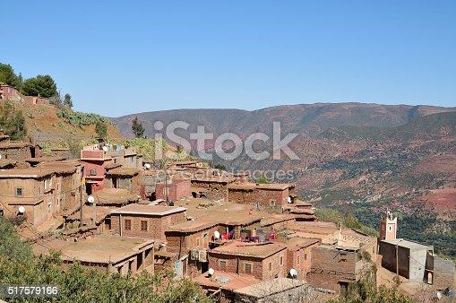 istock Native Moroccan Berber Mountain Village 517579166