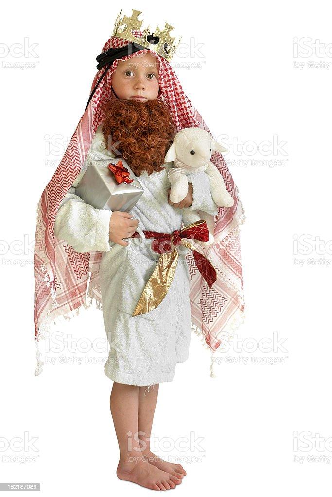 Nativity child royalty-free stock photo