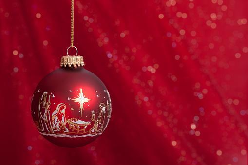Nativity Christmas ornamentALL NEW CHRISTMAS