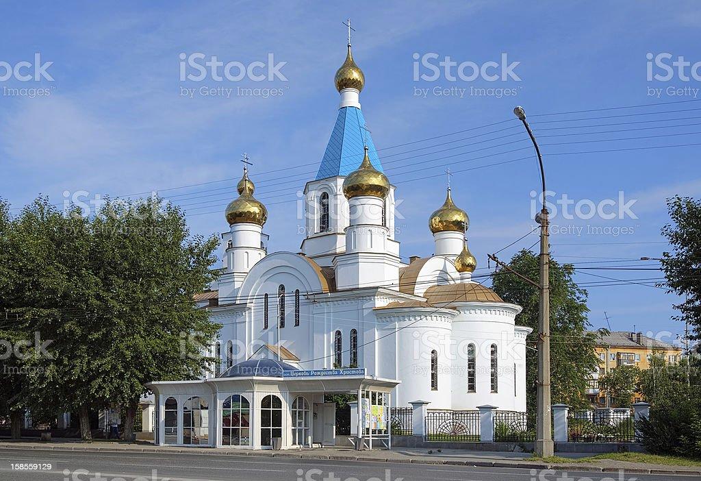 Nativity 성당도 예까테린부르그, 러시아 royalty-free 스톡 사진