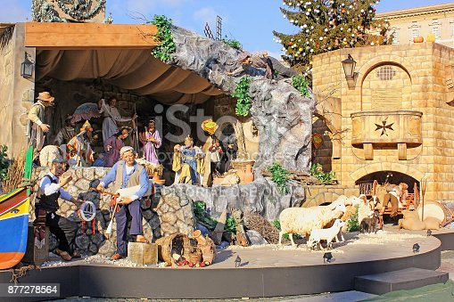 istock nativity scene in the Vatican City, Rome, Italy 877278564