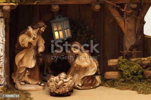 istock Nativity scene 176896734