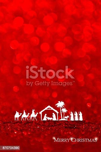 istock Nativity Scene 870704390