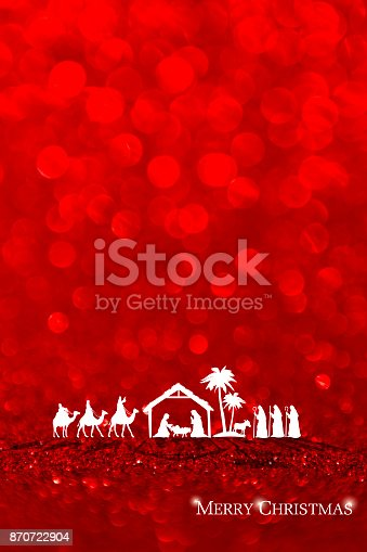 istock Nativity Scene 870722904