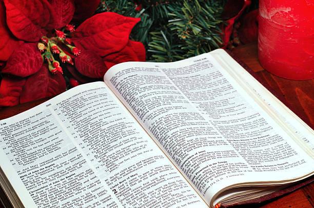 Nativity story stock photo