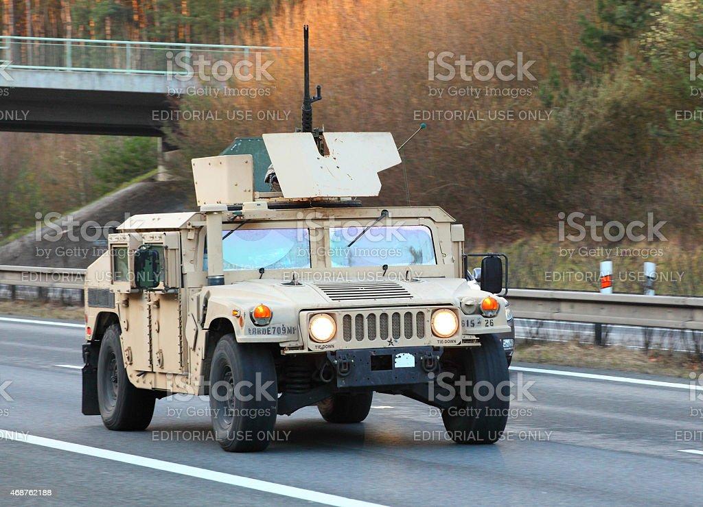 Nato Operation Atlantic Resolve. stock photo