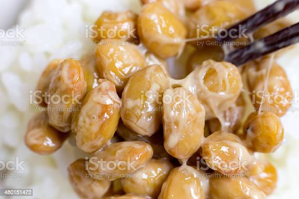 Nattou Fermented Soybeans Stock Photo - Download Image Now