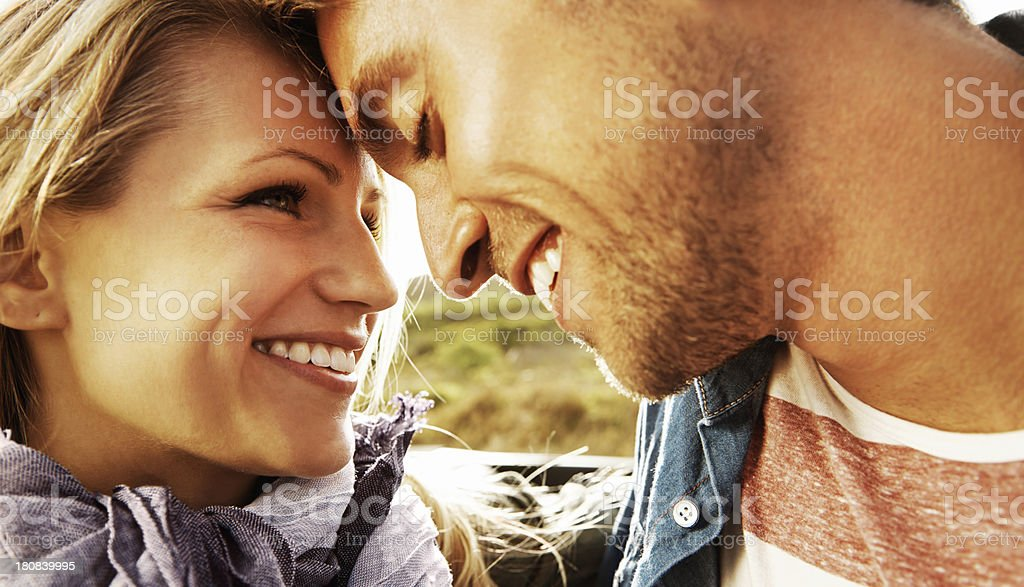 Natural affection royalty-free stock photo