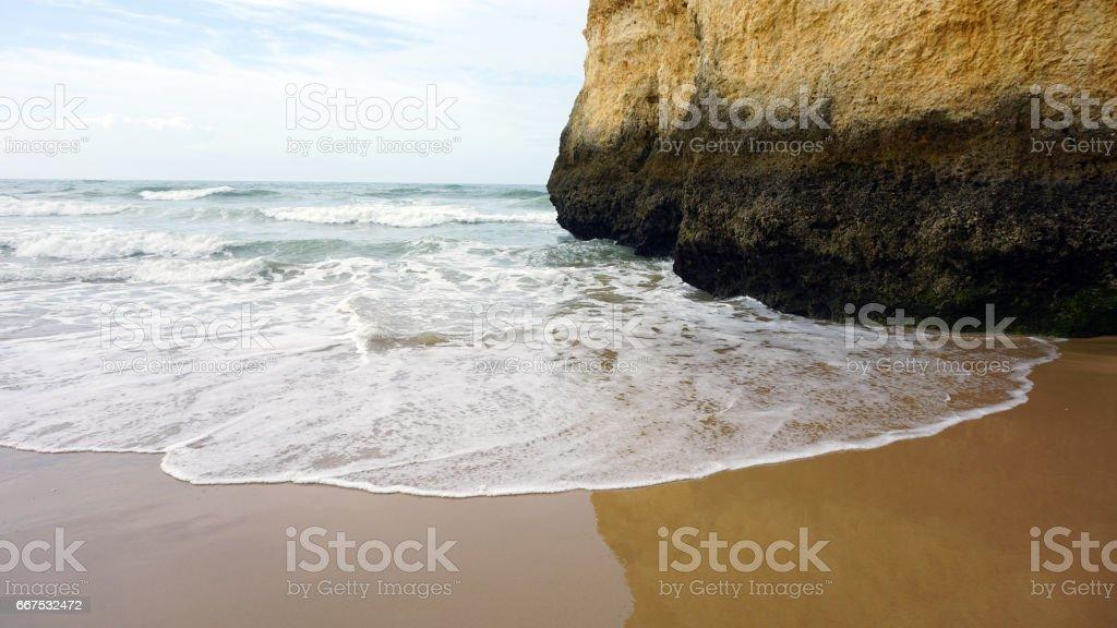 natural algarve coast foto stock royalty-free