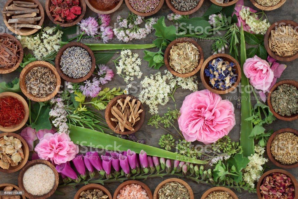 Natural Alternative Medicine stock photo
