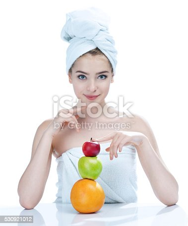 532331272 istock photo Natural as she is - fresh and beautiful 530921012