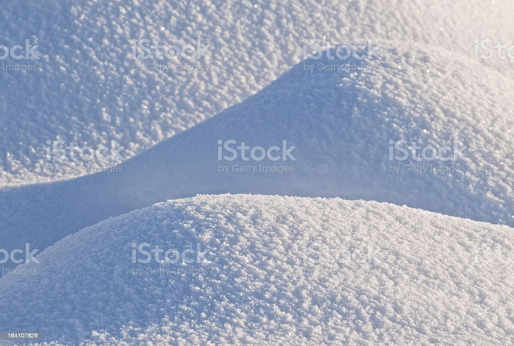 Natural background snow. royalty-free stock photo