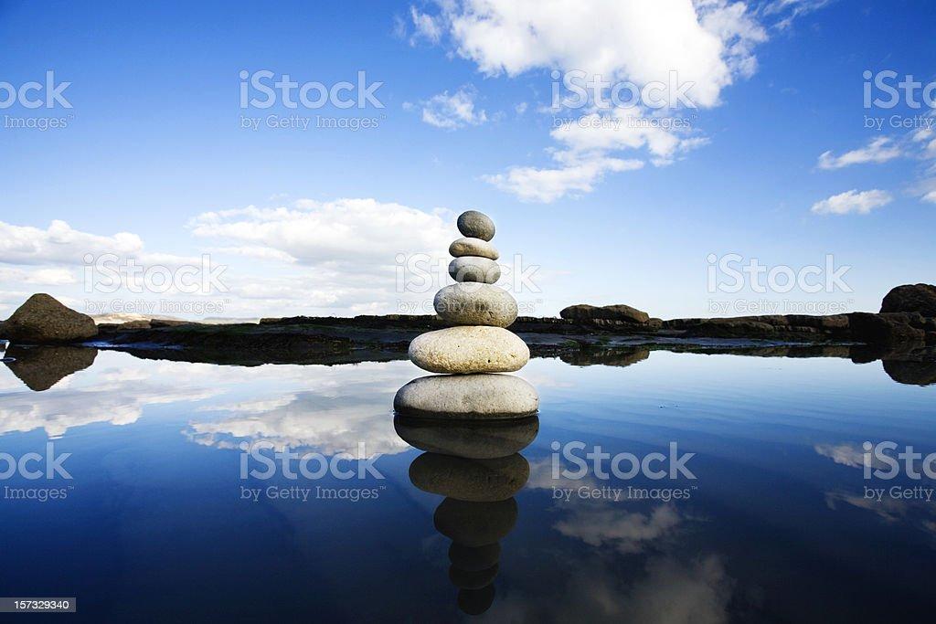 Natural balance royalty-free stock photo