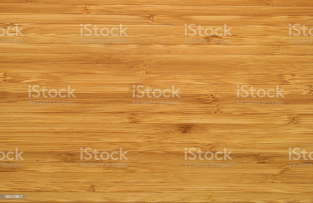 Natural Bamboo Plank stock photo