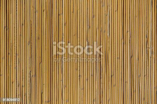 istock Natural bamboo textured 918094912
