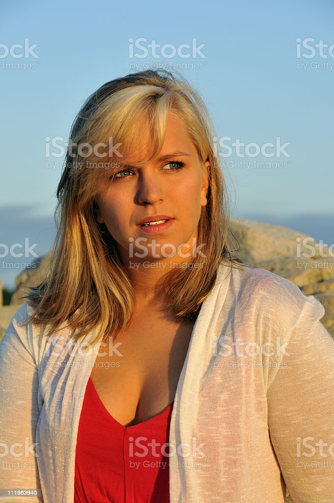 Natural Beauty in the Morning royalty-free stock photo