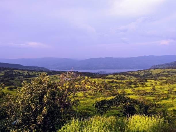 Natural beauty of Satara, Greenary stock photo