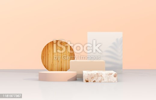 Abstract 3d composition background.