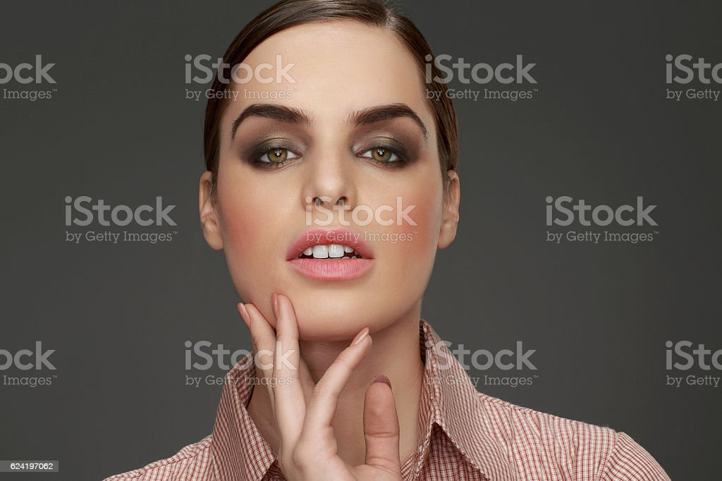 Natural Beauty Portrait Attractive Beautiful Young Women Hair Back Stock Photo Download Image Now Istock