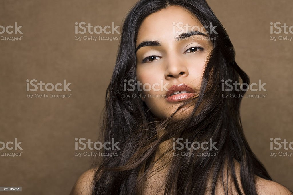 Natural Beauty Portrait - Royalty-free 25-29 Years Stock Photo