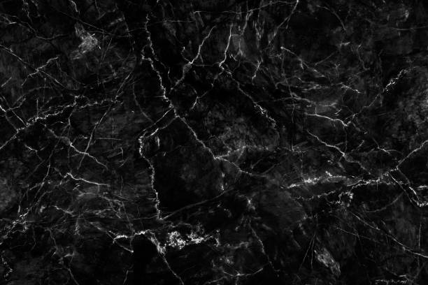 Natural black marble texture for skin tile wallpaper luxurious background, for design art work. Stone ceramic art wall interiors backdrop design. Marble with high resolution stock photo