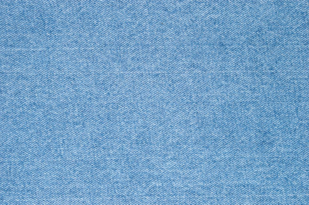 Natural blue jeans texture background. stock photo