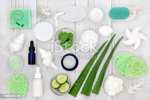 istock Natural Body Care and Skincare Products 1086093186