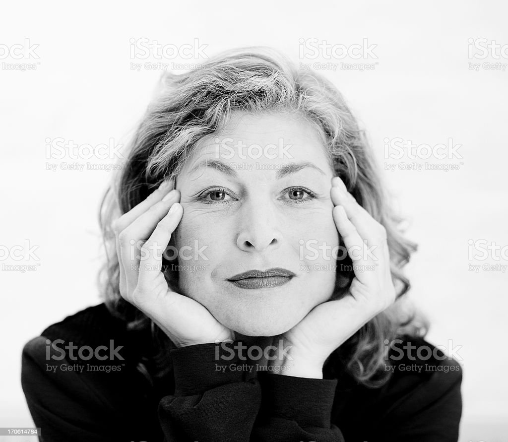 natural born beauty with a charming smile royalty-free stock photo