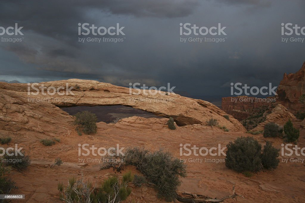Natural Bridge Canyonlands Nationalpark stock photo