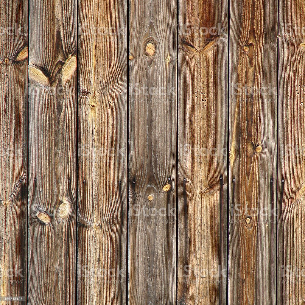 Natural brown old wooden board background royalty-free stock photo