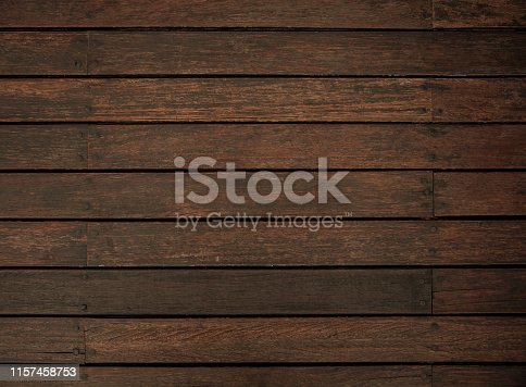 Natural brown wood decking floor texture