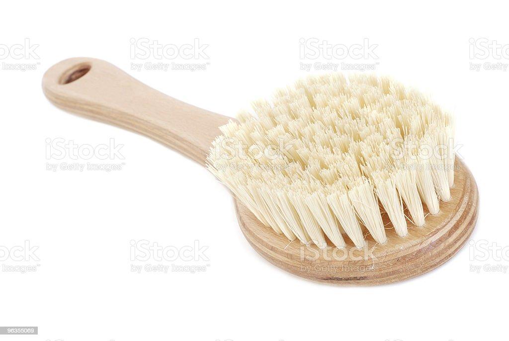 Natural brush stock photo