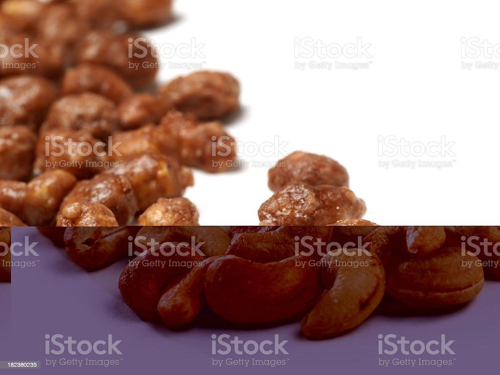 Natural Cashews royalty-free stock photo